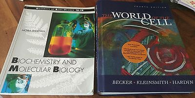 Biochemistry and Molecular Biology, The World of the Cell science text books