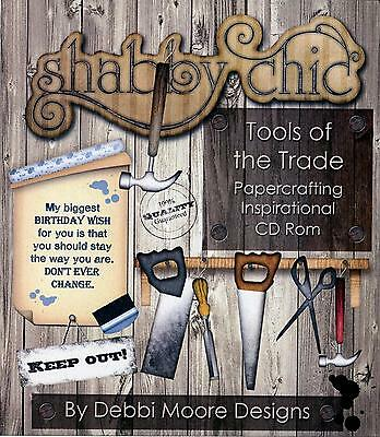 Debbi Moore Crafting - Shabby Chic Tools of the Trade CD Rom