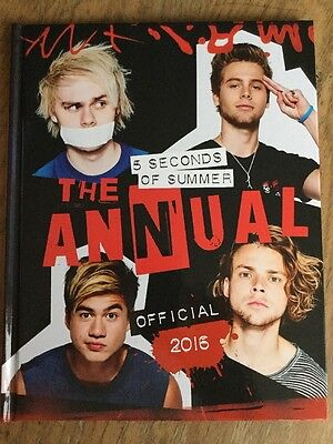 5 Seconds Of Summer. The Official 2016 Annual. Hardback