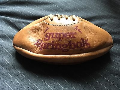 Signed Autographed Super Springbok Rugby Ball - 1985