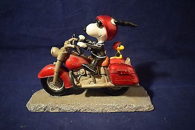 Westland SNOOPY Joe Cool on Motorcycle  Figure   #8224  (Q617)