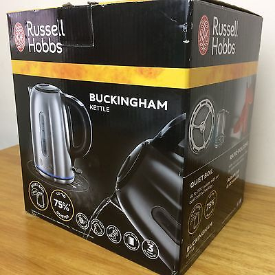 Russell Hobbs Buckingham Kettle 20460 Stainless Steel Electric 1.7 L Rapid Boil