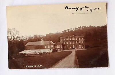 Crowcombe Court, With A Crowcombe Postmark