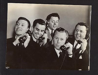 1940 Press Photo Celebrity Movie Make Up Artists The Westmore Brothers  *2778