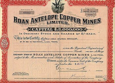 Roan Antelope Copper Mines Limited