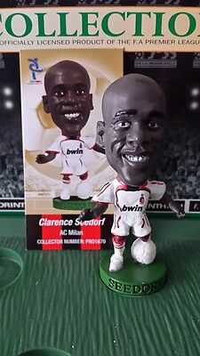 Seedorf PRO1670 - AC Milan Champions Of Europe 2007 Loose with card Corinthian