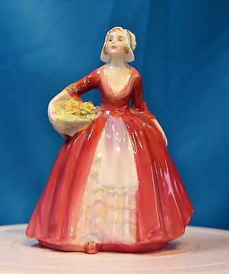 A Beautiful Vintage Royal Doulton Figurine - 'janet' Hn 1537