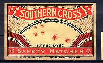 FPA OLD MATCHBOX LABELS-UK No.45- Southern Cross, packet size