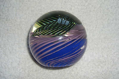 Caithness Large Glass Paperweight