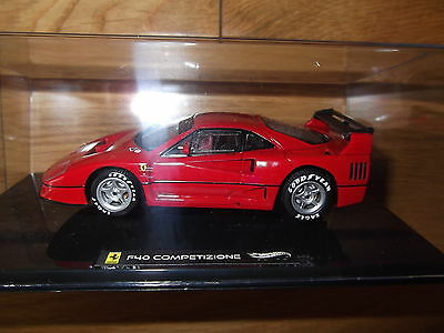 Hot Wheels Elite Ferrari F40 Competizione Launch Model 1/43