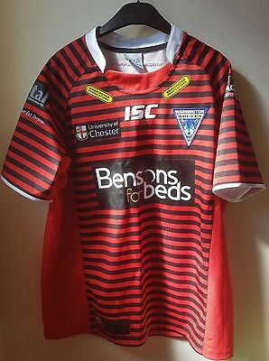 Warrington Wolves Wires Away Shirt - XL Extra Large