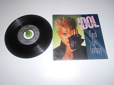Billy Idol - Flesh for Fantasy (1983) Vinyl 7` inch Single Vg +