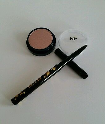 Max Factor Eyeshadow and ADS Twist-Up Eyeliner Pencil - Brand NEW 02