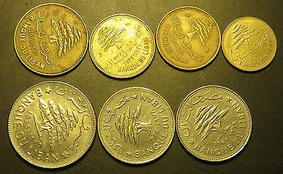 Misc coins from Lebanon