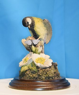 An Excellent Country Artists Figure Of A Great Tit