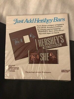 Hershey Wrapper it's a he Count 36
