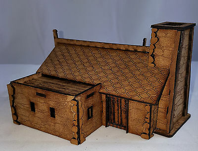 WARGAMING MDF- terrain scenery Fantasy Cottage 2 @28mm -Made to order