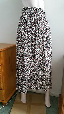 NEW LOOK skirt Size 12 maxi midi ditsy floral casual