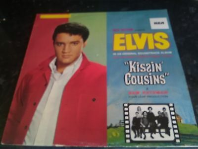 "12"" vinyl LP. ELVIS,  KISSIN COUSIN"