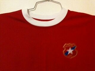 Ts Wisla Krakow Poland Home Red Tee - Shirt Childs Small 100% Cotton Excellent
