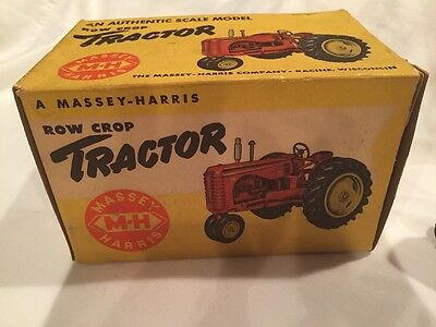 massey harris Reuhl 44 Tractor 1/16 Scale Model Ertl Eska Nib Box