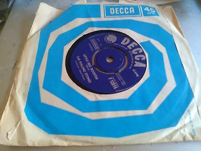 """7"""" Vinyl Single, The Rolling Stones, Little Red Rooster. 1964, Decca"""