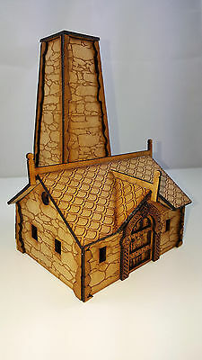 wargaming MDF FANTASY COTTAGE 28MM terrain scenery made to order