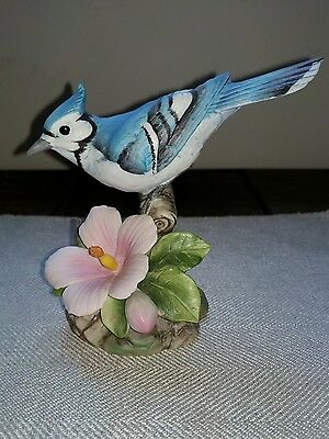 Andrea by Sadek Blue Jay Figurine #9386