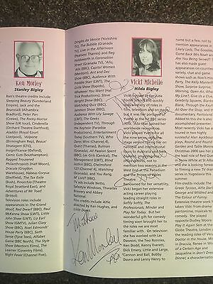 Ken Morley, Vicki Michelle multi signed Theatre Programme (Business Affairs)