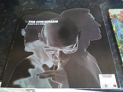"""12"""" Vinyl Lp. The Christians, What's In A Word. 1992. Island Records"""