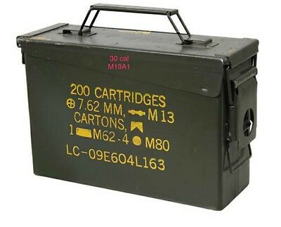 Surplus Military Ammo Cans - 30 Cal **Local Pickup Only**