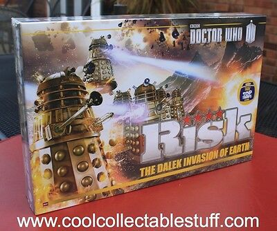 Doctor Who Dalek Invasion Of Earth Dr Who Risk Family Board Game New & Sealed!