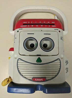 1996 Playskool Mr Mike Voice Changer Tape Recorder Microphone PS-468 Toy Story
