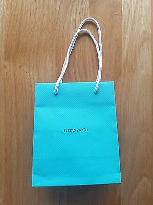 Small Turquoise Tiffany Gift/Carrier Bag