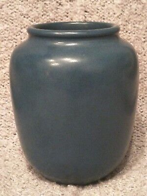 Exceptional  Royal Navy Blue Marblehead Vase! LOOK!
