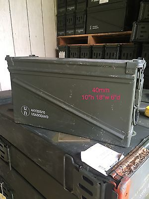 Military Surplus Ammo Can 40mm **Local Pickup Only**