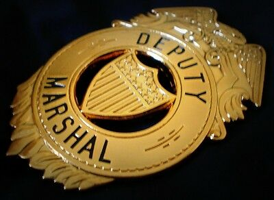 Deputy Railway Marshal 1889...obsolete USA COLLECTOR'S POLICE BADGE