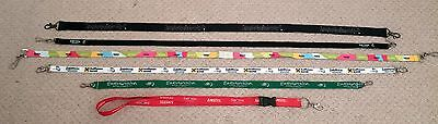 6 x Eurovision song contest lanyard