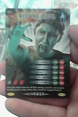 RARE WEEPING ANGEL battles in time card
