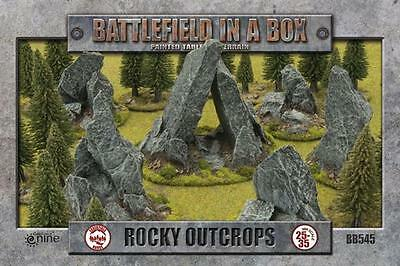 Battlefield in a Box: Rocky Outcrops BB545