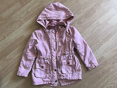 Girls Pink Thin Jacket 4-5 Years