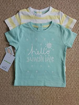 Vertbaudet Baby Boy Girl 6-9 months T-shirt Bundle. BNWT