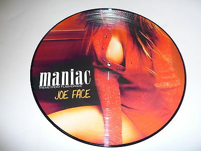 "Picture Vinyl Joe Face "" Maniac "" NEU"