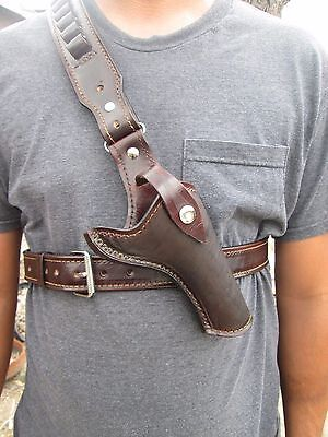 D.A.D CUSTOM LEATHER  Plain Leather Hunting Chest Holster