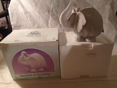 """1987 Precious Moments """"SHOWERS OF BLESSINGS"""" Birthday Series Figurine w/Box"""
