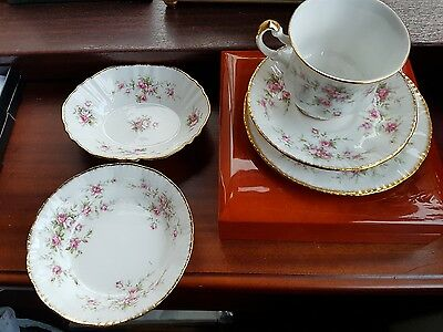 Paragon Fine Bone China/Victoriana Rose - Cup/Saucer/Plate + 2 Others