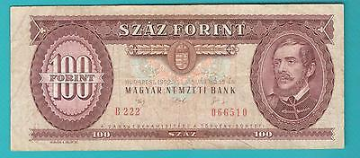 Hungary banknote 100 forint 1992