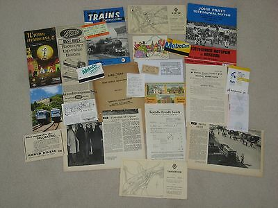 Ephemera Lot  - 24 items