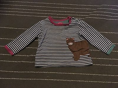 Joules Baby Girl Long Sleeved Top Size 9-12 Months