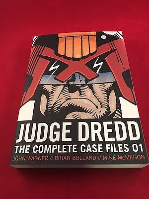 Judge Dredd: The Complete Case Files 01 by John Wagner Paperback Book (English)